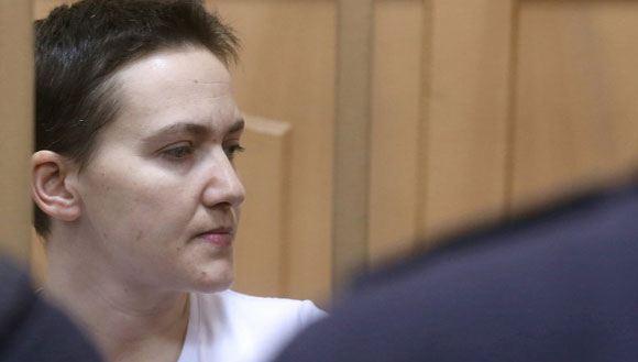 Надежда Савченко голодает уже в течение двух месяцев