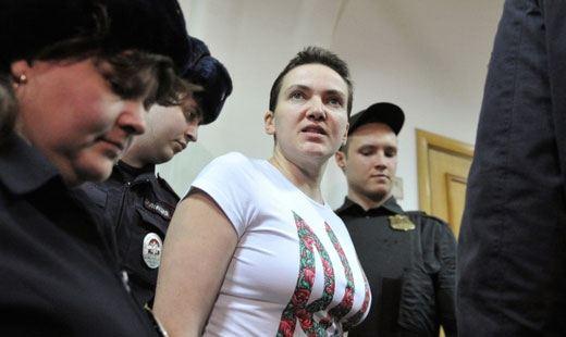 Надежда Савченко обещает голодать до смерти