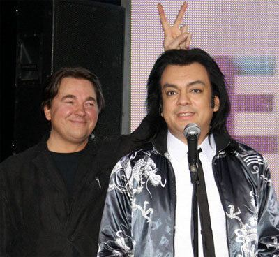 In the photo: Konstantin Ernst and Philip Kirkorov
