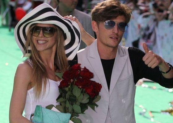 In the photo: Pavel Volya and Nadezhda Sysoeva