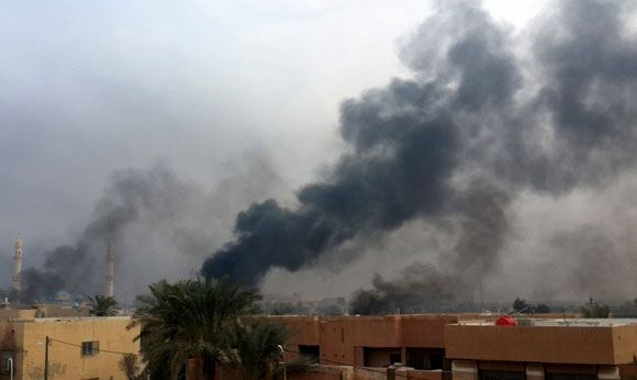 IG militants massively destroy libraries in Iraq