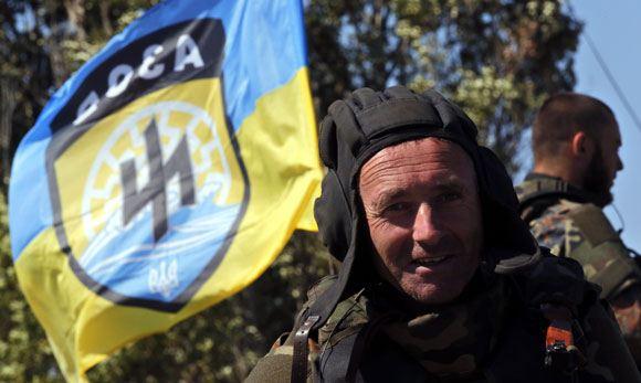 Боец добровольческого батальона «Азов»