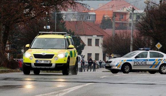 В Чехии мужчина застрелил восемь посетителей ресторана