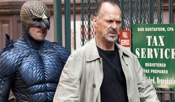 "Michael Keaton in the film ""Birdman"""