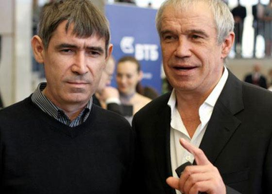 In the photo: Roman and Sergey Garmash