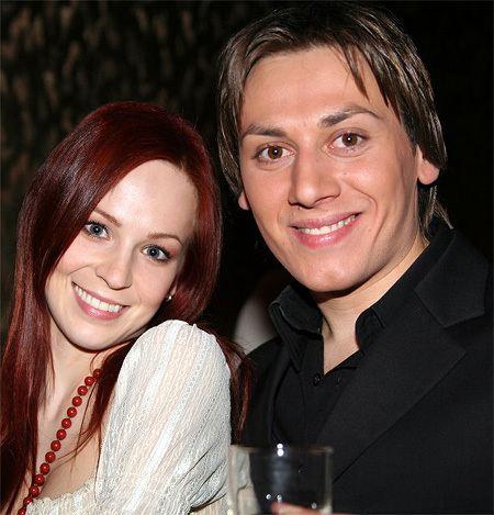 In the photo: Irina Medvedeva and Ruslan Alehno