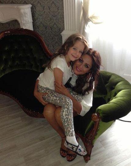 Юлия Началова с дочерью Верой