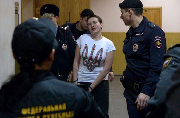Елена Масюк сообщает, что Савченко находится в критическом состоянии