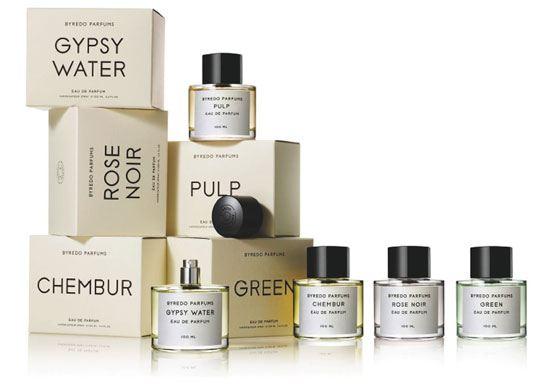 Разнообразие ароматов Byredo