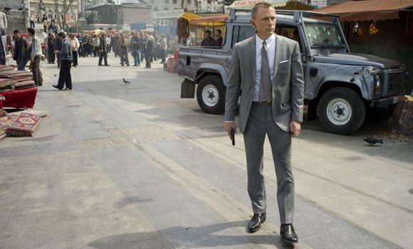 Дэниел Крейг попал в ДТП во время съемок нового фильма «бондианы»