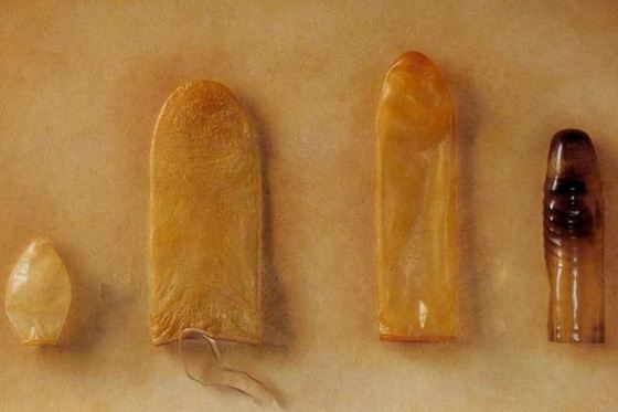 First condoms