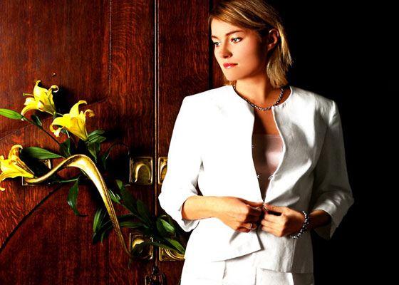 In the photo: Victoria Tolstoganova