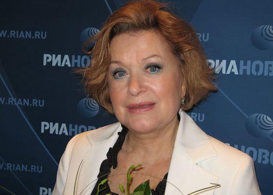 In the photo: Valentina Talyzina