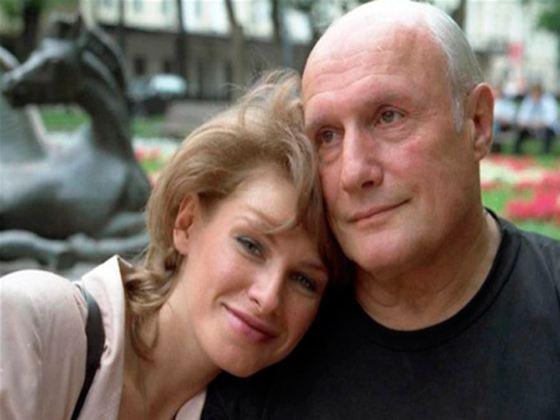 In the photo: Alexander Porokhovshchikov with his wife