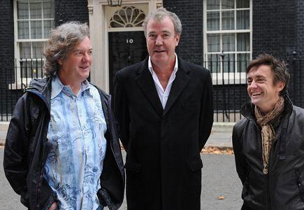 Трое ведущих шоу Top Gear