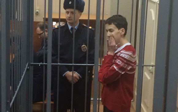 Медики: Надежда Савченко набрала несколько килограммов
