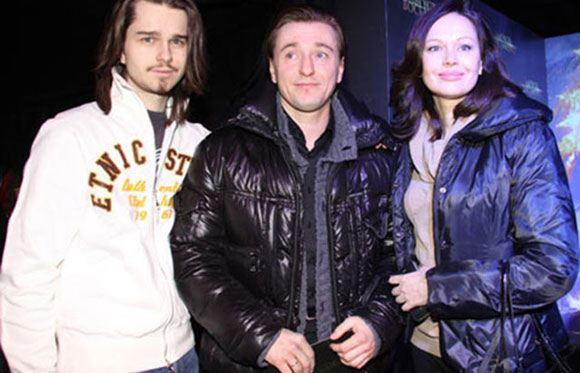 Андрей Ливанов вместе с Сергеем и Ириной Безруковыми