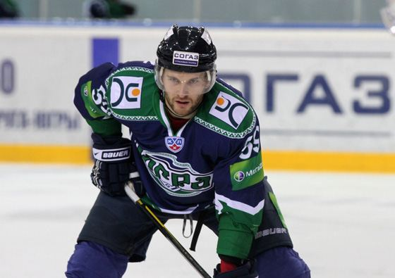 Hockey player Sergei Demagin can score fast