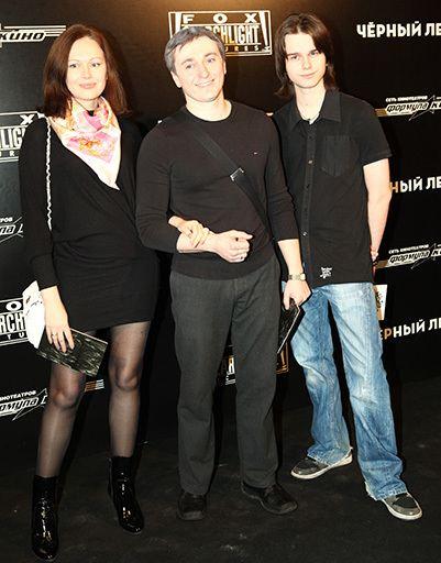 Андрей Ливанов с Сергеем и Ириной Безруковыми