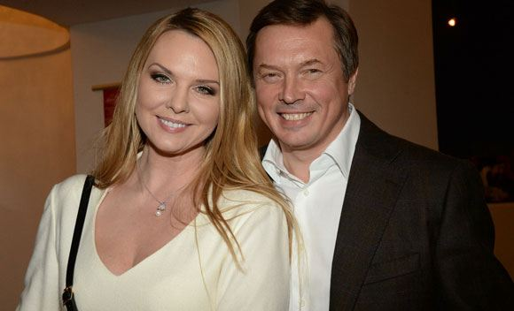 Певица Варвара с мужем
