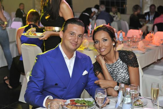Alsou with her husband - businessman Yan Abramov