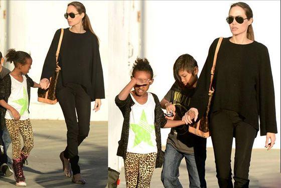 Сумка Анджелины Джоли не понравилась стилистам