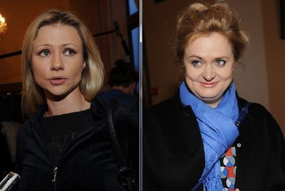 Anna Mikhalkova and Maria Mironova
