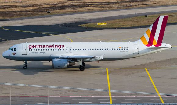 �� ������� �������� Airbus A320 �������� Germanwings