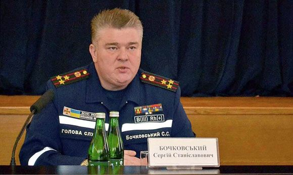 In Ukraine, the head of the State Committee on Emergency Situations was arrested
