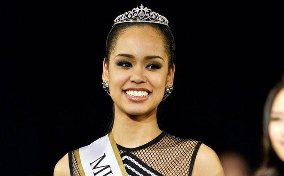 «Мисс Японию» Ариану Миямото назвали не настоящей японкой