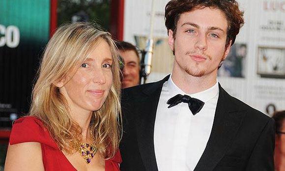 Сэм Тейлор-Джонсон с мужем, актером Аароном Тейлором-Джонсоном