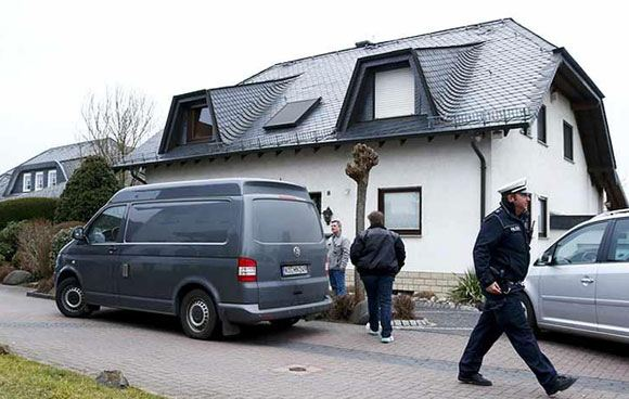 Дом пилота разбившегося Airbus А-320 Андреаса Любица
