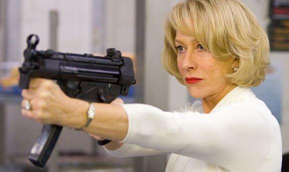 Хелен Миррен в комедийном боевике «Рэд»