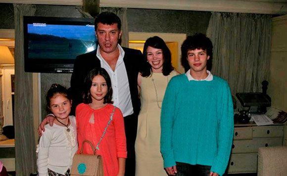фото немцова бориса семья