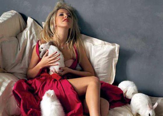 «Блондинка в шоколаде» Ксения Собчак