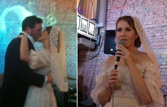 фото свадьба ксении собчак