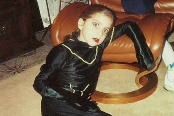леди гага детство фото