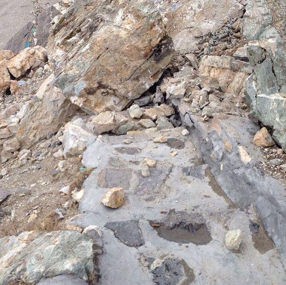 Валдиса Пельша едва не засыпало камнями в Непале