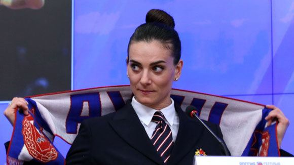 Elena Isinbayeva signed a contract with the Ministry of Defense
