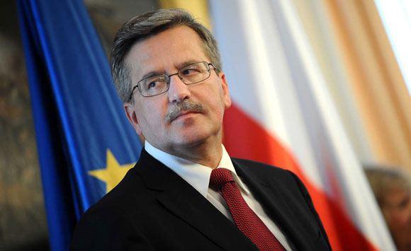 Бронислав Коморовский хочет пойти на второй президентский срок