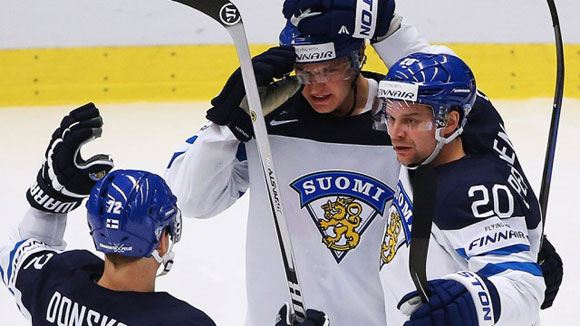 Сборная Финляндии обыграла россиян в рамках ЧМ по хоккею
