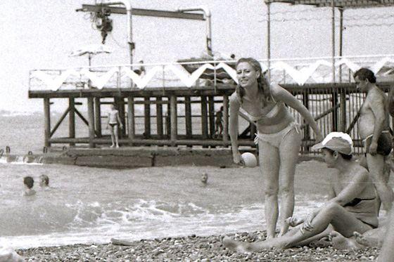 Maya Plisetskaya in his youth