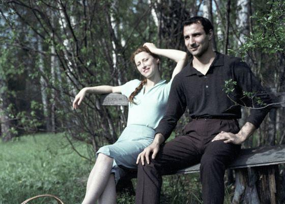 Ballerina Maya Plisetskaya and her brother Azaria