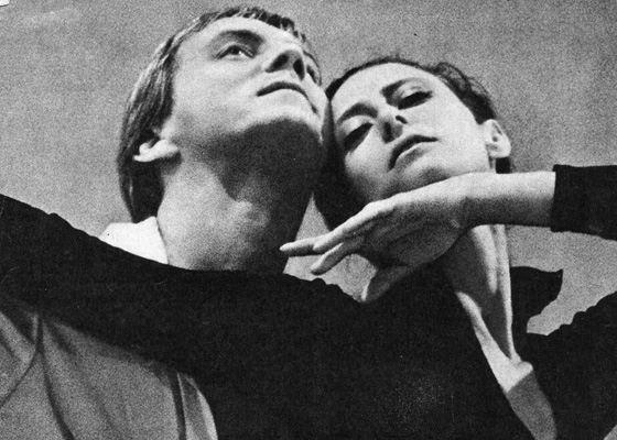Maya Plisetskaya and Maris Liepa