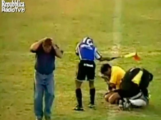 Пчелы напали на футболистов из Сальвадора