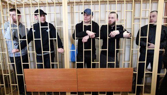Члены банды «приморских партизан» в суде