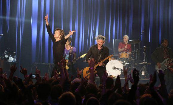 Группа Rolling Stones начала турне по США с «секретного» концерта