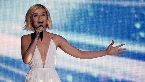 Полина Гагарина выступила в финале «Евровидения»