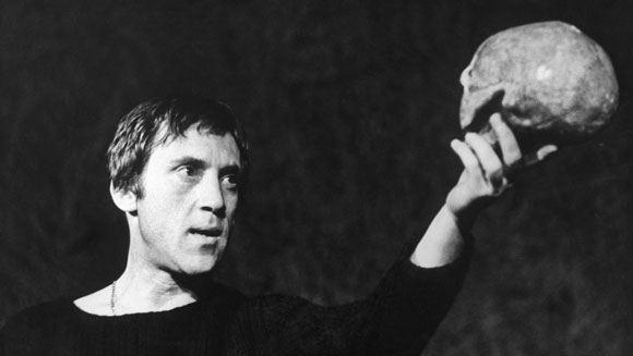 Владимир Высокий в роли Гамлета