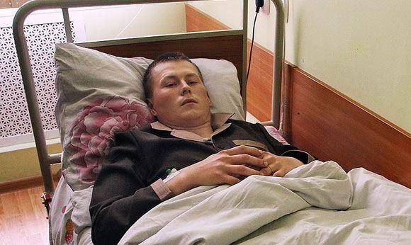 Александр Александров, захваченный украинскими военными в Луганской области